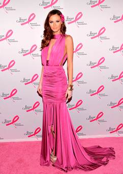 Описание: Описание: ALYSSA-CAMPANELLA-at-Breast-Cancer-Foundations-Hot-Pink-Party-in-New-York-2.jpg